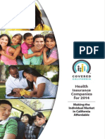 Covered California Health Plans Book