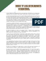 El Sacerdote y Las Realidades Terrenas.