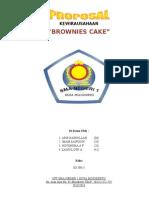 Proposal Wirausaha BROWNIES