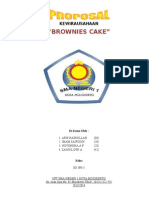 Proposal Wirausaha BROWNIES