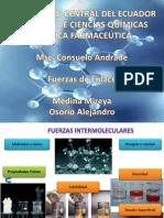 Fuerzas Intermoleculares..
