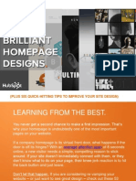 53 Examples of Brilliant Homepage Designs Final COSCTA Edit