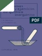 Savitski S - Problemas Y Ejercicios de Quimica Inorganica