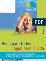 Agua Para Todos, Agua Para La Vida_fragmento