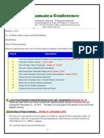 Communication Advisory for October 12- 2013