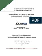 (3) Versión Actualizada Estatutos ASODITEM (Marzo 8_ 2013)