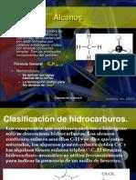 Nomenclatura de Hidrocarburos Alcanos y Cicloalcanos