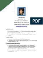 Curriculum Vitae Mariana Celeste Valle2