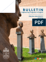 University of Óbuda Bulletin