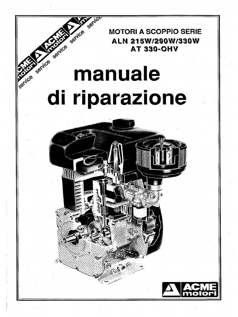 Acme Aln290 330motofalciatrici e Motocoltivatori PDF June