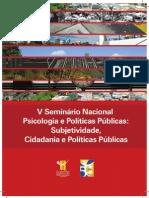 Subjetividade Cidadania e Politicas Publicas