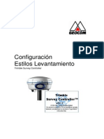 Configuracion Trimble Survey Controller - GEOCOM