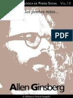 Cuaderno de Poesia Critica n 13 Allen Ginsberg