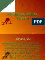 Pendidikan Di Malaysia Selepas Merdeka (SMS)