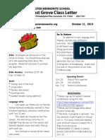 Newsletter 10 12
