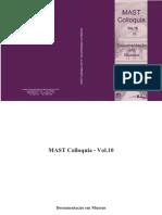 MAST - Mast Colloquia 10