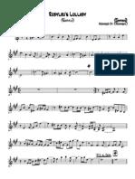 Rubylou's Lullaby Recital(Alto) - Alto Sax.