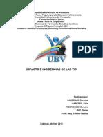Trabajo Impacto e Incidencias de Las TIC