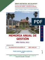 Nuevo Mag Cajacay 2012
