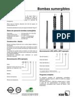 Ksb Manual Tecnico Sumergible
