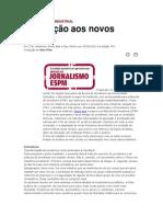 jornalismo pós industrial manifesto traduzido