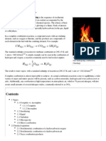 Combustion Basic Information