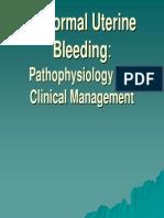 AUB Patofisiologi and Definision