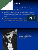Auteur Theory Orson Welles Citizen Kane