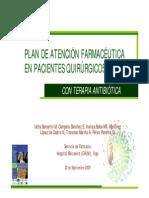 PLAN DE ATENCIÓN FARMACÉUTICA EN PACIENTES QUIRÚRGICOS
