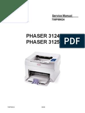 Phaser 3124 3125 Service Manual Printer Computing Office