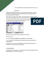 Base de Datos Con Visual Basic