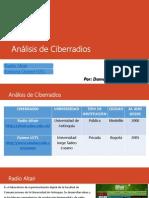 Análisis de Ciberradios