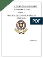 Indices de Miller Reporte (1)