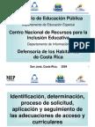 CD Adecuaciones Curriculares LD