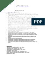 Thermodynamics for PRINT