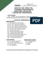 Probador de SCR,TRIACS,AO,Transistores Unijuntura