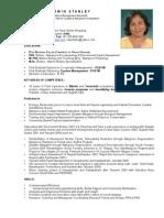 Oswin Resume July 2009