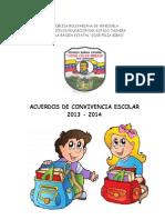 acuerdos convivencia 2012-2013