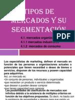Tipos de mercados y su segmentación