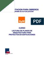 74063902 Curso Lectura de Planos de Arquitectura Para Proy en Obras de Edif
