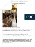 MCV Melbourne Wine Bars