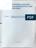 4 Schematic Plans Technica Requirements 100 Bed Hospital Doh Technical Guidelines Hospital Design