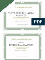 Diplomas Victor