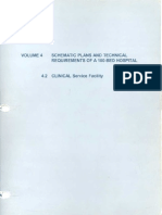 4_2 Clinical ServiceFacility 100 Bed Hospital Doh Technical Guidelines Hospital Design
