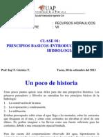 08092013 Clase 1 Cbeihidrologia