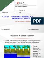 31082013 Clase 2 Drenaje y Salinidad en La Costa Peruana