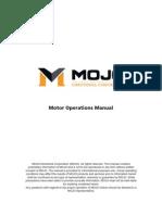 Mojo Motor Operations Manual