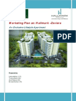 Marketing Plan of a real estate project