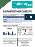 MKT Data Perfil Del Usuario de Redes 2012