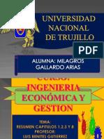 Diapositivas Cap 1,2,3 y 8 Ingen.econ